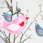Süße Deko mit Vögelchen