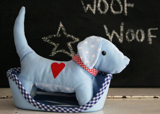 "Kuschel-Hund ""Frido"" | DIY LOVE"