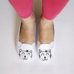 Süße Kitty-Schuhe