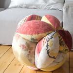 Sitzball / Patchwork-Ball