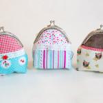 Clipbörse / Portemonnaie mit Taschenbügel