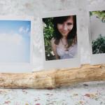 Foto-Ständer aus Holz