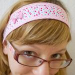 Sommerliches Haarband (Baby bis Erwachsene)