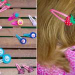 Süße Haarclips / Haarspangen
