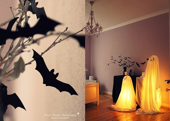 halloween deko diy love. Black Bedroom Furniture Sets. Home Design Ideas