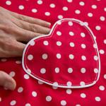 Nähschule: Aufgesetzte Tasche (Herz)