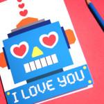 """Karte """"I LOVE YOU"""""""