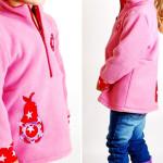 Fleece-Pullover für Kinder