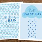 Happy Rainy Day Printable
