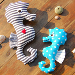 Seepferdchen Kuscheltier
