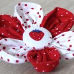 Blütenzauber: Wunderschöne Stoffblumen