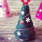 Gefilzter Weihnachtsbaum