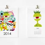 Monsterkalender 2014 (Printable)