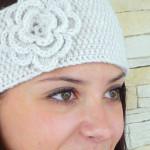 Stirnband mit Blüte