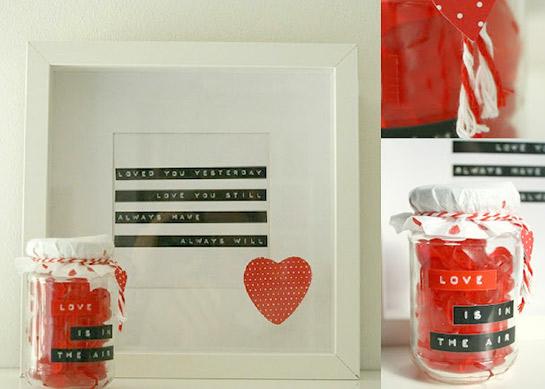 valentinstagsgeschenk diy love. Black Bedroom Furniture Sets. Home Design Ideas