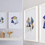 Geometrische Wandbilder