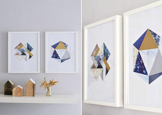 Geometrische wandbilder diy love - Geometrische wandbilder ...