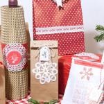 Geschenkverpackung zu Weihnachten