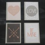 Grußkarten zum Valentinstag (Printable)