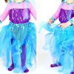 Meerjungfrauen-Kostüm für Kinder