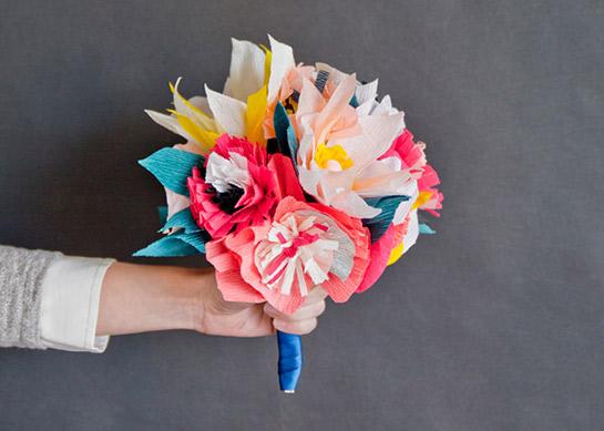 Papier Blumenstrauß Diy Love