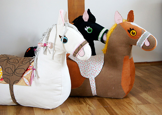 reittier pferd | diy love - Pferde Kinderzimmer Ideen