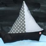 Segelboot-Kissen