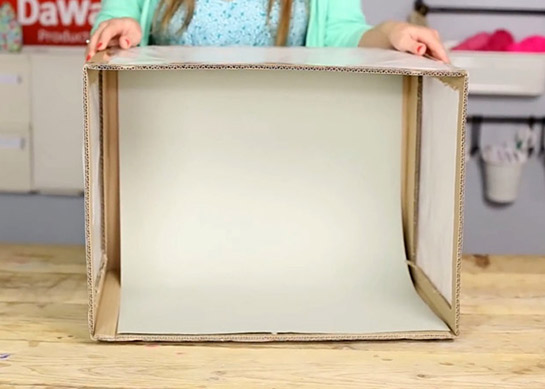fotobox whitebox basteln diy love. Black Bedroom Furniture Sets. Home Design Ideas