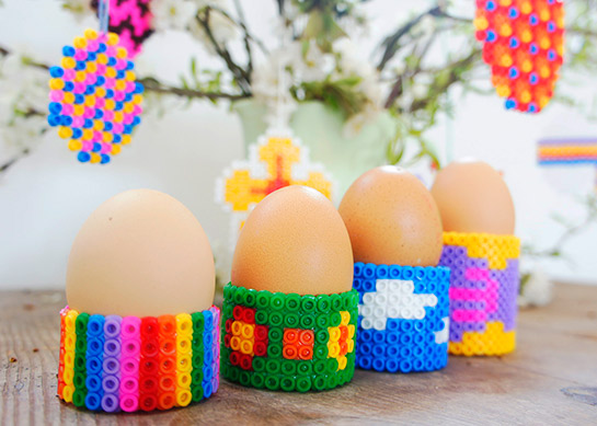 Oster Eierbecher Aus Bügelperlen Diy Love