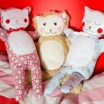 Kuscheltier-Katze / Kuschelmieze