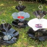 Schallplatten-Etagere