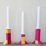 Geometrische Kerzenständer