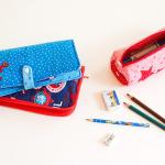Federmappen-Set: 3 Stiftemäppchen