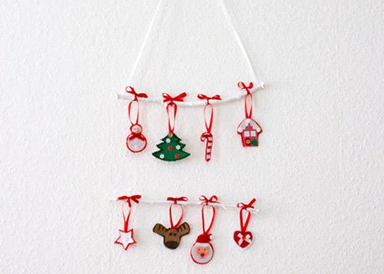 Weihnachtliches mobile mit filzfiguren diy love - Diy mobel anleitung ...