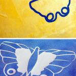 Plotterdate Schmetterlinge