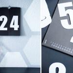 Zahlenkalender basteln