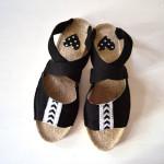 Sandalen mit Espadrilles Sohlen
