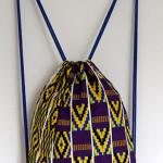 Turnbeutel aus afrikanischem Stoff