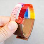 Geknüpftes Regenbogen Armband