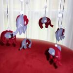 Elefanten-Mobile