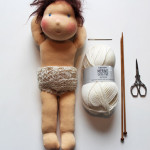Puppen-Unterhöschen stricken