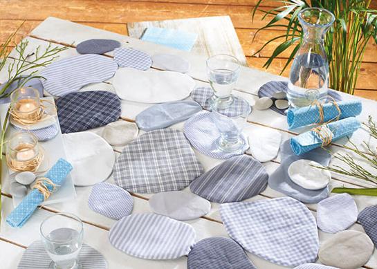 Steinige Tischdeko Diy Love