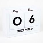 Dauerkalender Würfelkalender