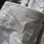 Snappap Tasche mit Origami Ecken
