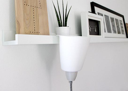 ikea hack lampe diy love. Black Bedroom Furniture Sets. Home Design Ideas