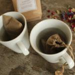 Wiederverwendbare Teebeutel aus Stoff